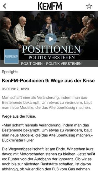 Kenfm App